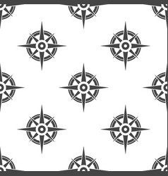 compass seamless pattern vector image
