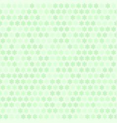Green flower pattern seamless vector