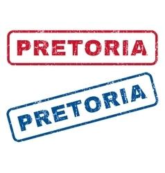 Pretoria Rubber Stamps vector image vector image