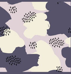 abstract seamless pattern for design vector image