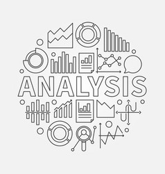 Analysis outline vector
