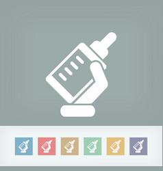 biberon icon vector image
