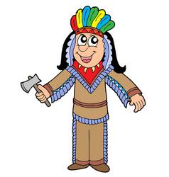 Cute apache vector