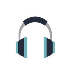 headphones music listen song volume vector image