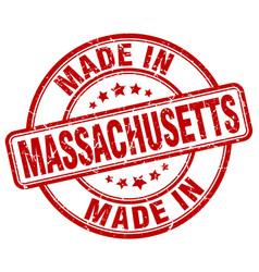 Made in massachusetts vector