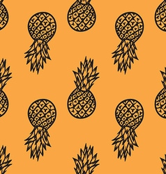 Pinapple Patterned Background vector image