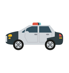 police car icon image vector image