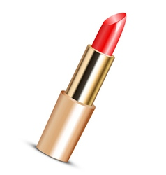 red lipstick vector image vector image