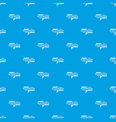 smart media pattern seamless blue vector image