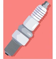 sparkplug vector image