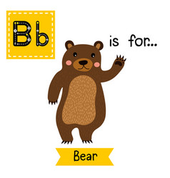Tracing letter b for baboon vector