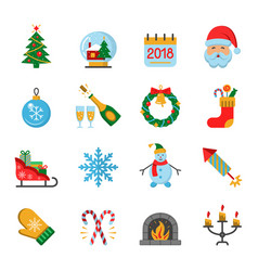 new year ic vector image