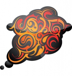 tribal design element vector image vector image