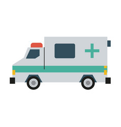 ambulance healthcare icon image vector image