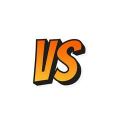 concept vs fight versus sign gradient style vector image