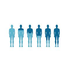 human quantitative rate icon vector image
