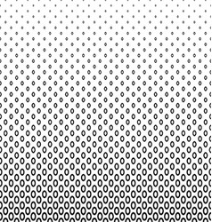 Monochrome geometric ellipse pattern background vector
