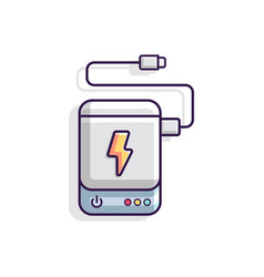 Powerbank vector