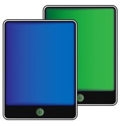 touchscreen vector image