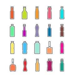 Bottle icon design vector