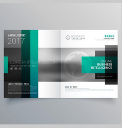 Creative booklet brochure template design vector