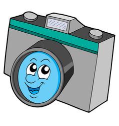 cute camera vector image