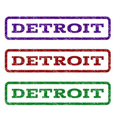Detroit watermark stamp vector