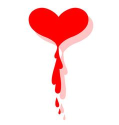Greeting valentine card happy valentine day vector