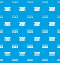 keyboard pattern seamless blue vector image