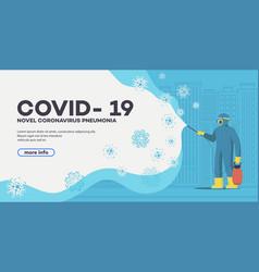 Novel coronavirus 2019-ncov background vector
