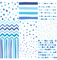 seamless pattern in doodle style vector image