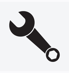 Wrench Icon vector image vector image