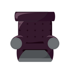 recliner chair icon image vector image
