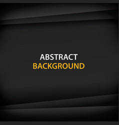 abstract background with black paper for text vector image
