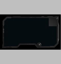 futuristic tablet vector image