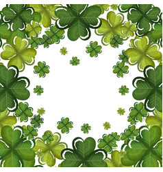 Happy saint patricks day celebration vector