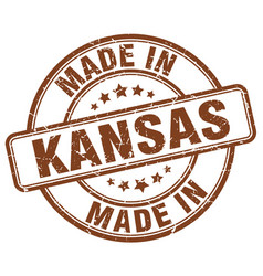 Made in kansas vector