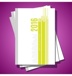 Modern abstract brochure cover template vector