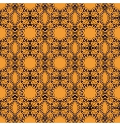 Seamless outlines pattern in oriental style islam vector
