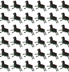 Sheep monotonous pattern vector
