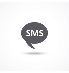 SMS icon vector