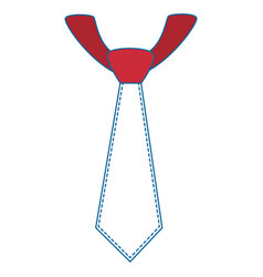Tie accessory design vector