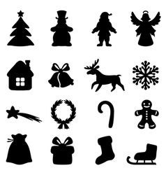 xmas new set vector image
