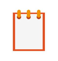 wired notepad icon image vector image vector image