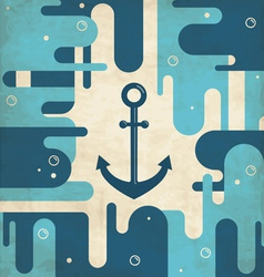 Abstract Anchor Background vector image vector image