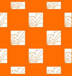 financial statistics pattern seamless vector image