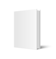 mock up of standing book vector image