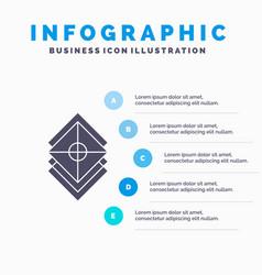 Arrange design layers stack layer infographics vector