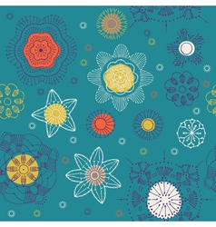 geometric wallpaper vector image