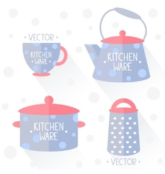 kitchenware flat vector image